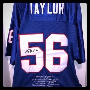 Lawrence Taylor Mitchell & Ness Throwback Jersey